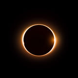eclipse Fotografia de Stock Royalty Free