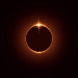 eclipse Imagem de Stock