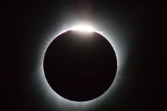 Eclipse 2017 Fotografia de Stock
