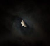 Eclipse da lua Fotografia de Stock