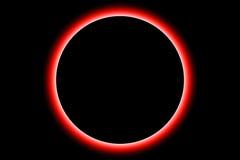 Eclipse da terra imagem de stock