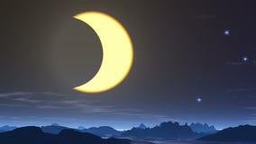 Eclipse stock video