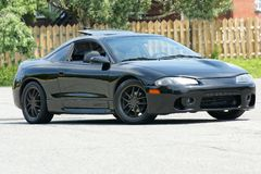 Eclipse de Mitsubishi Imagem de Stock