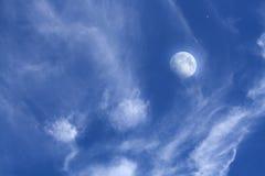 Eclipse della luna Fotografie Stock Libere da Diritti