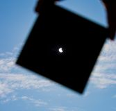 Eclipse di Sun Fotografia Stock