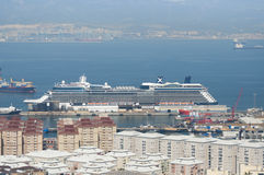 Eclipse Docked in Gibraltar Stock Image