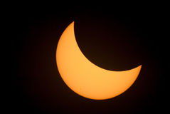 Eclipse 2017. I was able to witness the outstanding eclipse this year. What an experience! Waiting for the moon to cover the sun with anticipation, it was Stock Photography