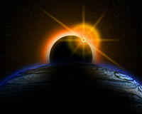 Eclipse. Royalty Free Stock Photo