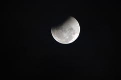 Eclipse lunar Imágenes de archivo libres de regalías
