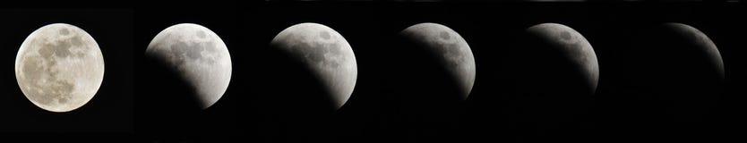 Eclipse lunare immagine stock libera da diritti