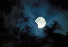 Eclipse of Moon Royalty Free Stock Images