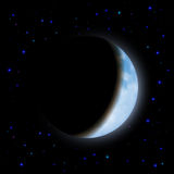 Eclipse of the moon Royalty Free Stock Images