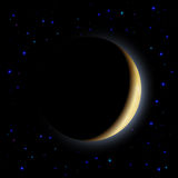 Eclipse of the moon Stock Photography