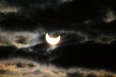 Eclipse solar Imagenes de archivo