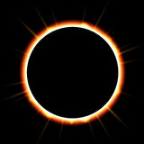 Eclipse solar fotos de stock royalty free