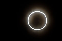 Eclipse solar imagem de stock royalty free