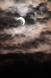 Eclipse solar Foto de archivo libre de regalías