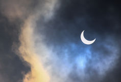 Eclipse solar Foto de Stock