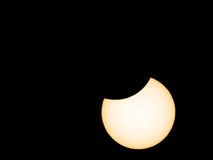 Eclipse solar Foto de Stock Royalty Free