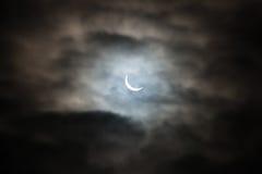 Eclipse solar Imagen de archivo libre de regalías