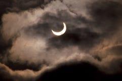 Eclipse solar 6 Foto de archivo