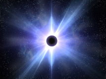 Eclipse solar Imagens de Stock Royalty Free