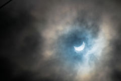 Eclipse solar Fotos de Stock