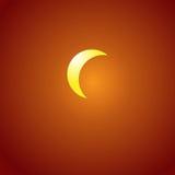 Eclipse solar stock de ilustración