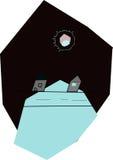 Eclipse solar de la visión en niños 6 años imagen de archivo libre de regalías