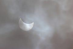 Eclipse solar 20 de marzo de 2015 Imagen de archivo