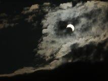 Eclipse solar el 20 de mayo de 2012 Fotografía de archivo