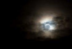 Eclipse solar el 20 de mayo de 2012 Imagen de archivo
