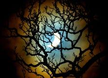 Eclipse solar, el 20 de marzo de 2015 Imágenes de archivo libres de regalías