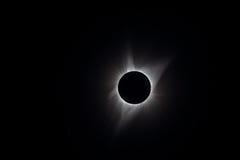 Eclipse solar total Fotografía de archivo
