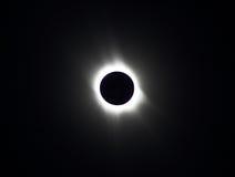 Eclipse solare 2006 nell'Astrakan Fotografia Stock