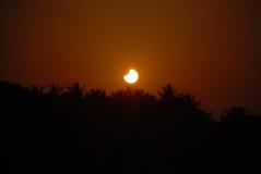 Eclipse solare Fotografie Stock Libere da Diritti