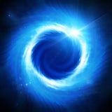 Eclipse solare nello spazio Immagini Stock Libere da Diritti