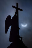 Eclipse in St. Petersburg Royalty Free Stock Photos
