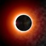 Eclipse of the Sun Stock Images