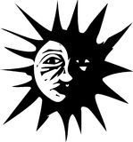 Eclipse of the sun Stock Photos