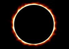 Eclipse total Imagen de archivo libre de regalías
