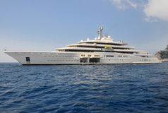 Eclipse yacht Stock Photo