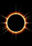 Eclissi solare Fotografia Stock