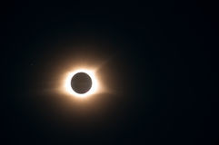 Eclissi solare 2017 Fotografie Stock