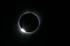 Eclissi solare del 21 agosto 2017 Fotografia Stock Libera da Diritti