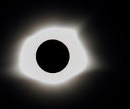 Eclissi solare 2017 di totalità immagini stock