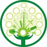 Eco产业世界, 库存图片