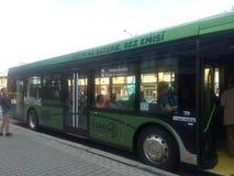 Eco公共汽车 库存照片