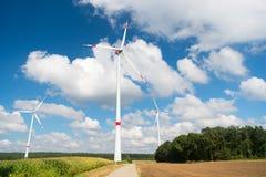 Eco力量,绿色技术概念 图库摄影