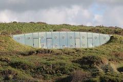 Eco友好地下之家 免版税库存照片